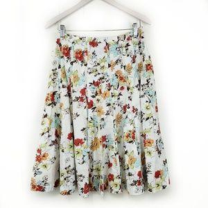 CAbi Floral Palapa A-Line 475 Skirt